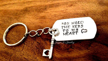 Load image into Gallery viewer, You Hold The Keys To My Heart Keychain-JazzieJ'sJewelry
