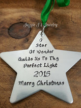Load image into Gallery viewer, Star Christmas Ornament-JazzieJ'sJewelry