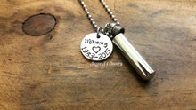 Load image into Gallery viewer, Personalized Cremation Urn Necklace-JazzieJ'sJewelry