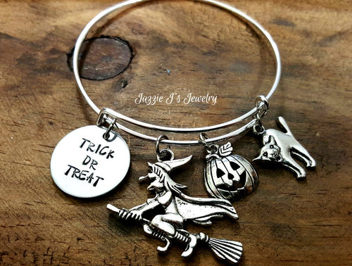 Trick or Treat Bangle Bracelet-JazzieJ'sJewelry