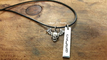 Load image into Gallery viewer, Personalized Boys Halloween Necklace-JazzieJ'sJewelry