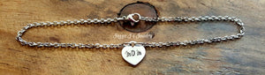 Mom Name Anklet-JazzieJ'sJewelry