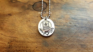 Army Wife Necklace-JazzieJ'sJewelry