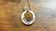 Load image into Gallery viewer, Army Wife Necklace-JazzieJ'sJewelry