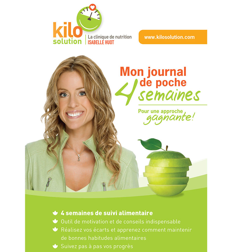JOURNAL ALIMENTAIRE 4 SEMAINES