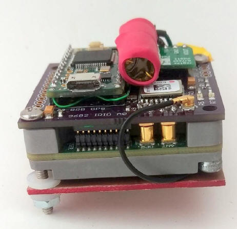 BigRedBee SBD controller with GPS