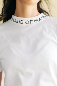 MADE OF MAGIC - CAMISETA MUJER CUELLO SEMI ALTO