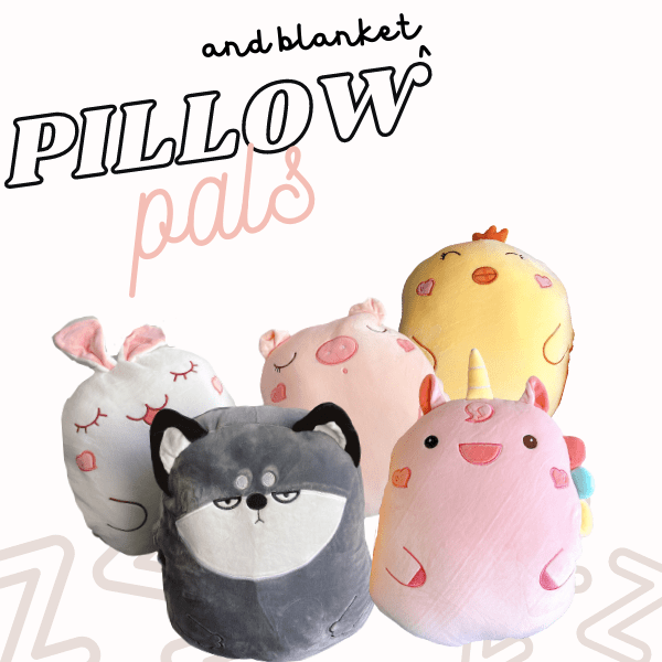 Pillow Pals (with Blanket)