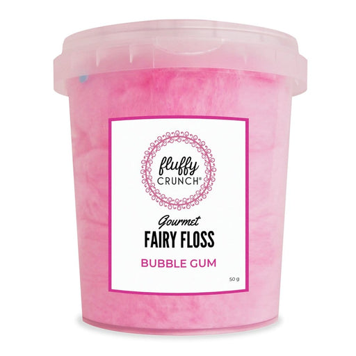 Fluffy Crunch Fairy Floss