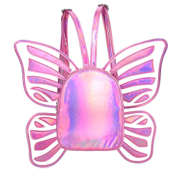 Holographic Butterfly Bag