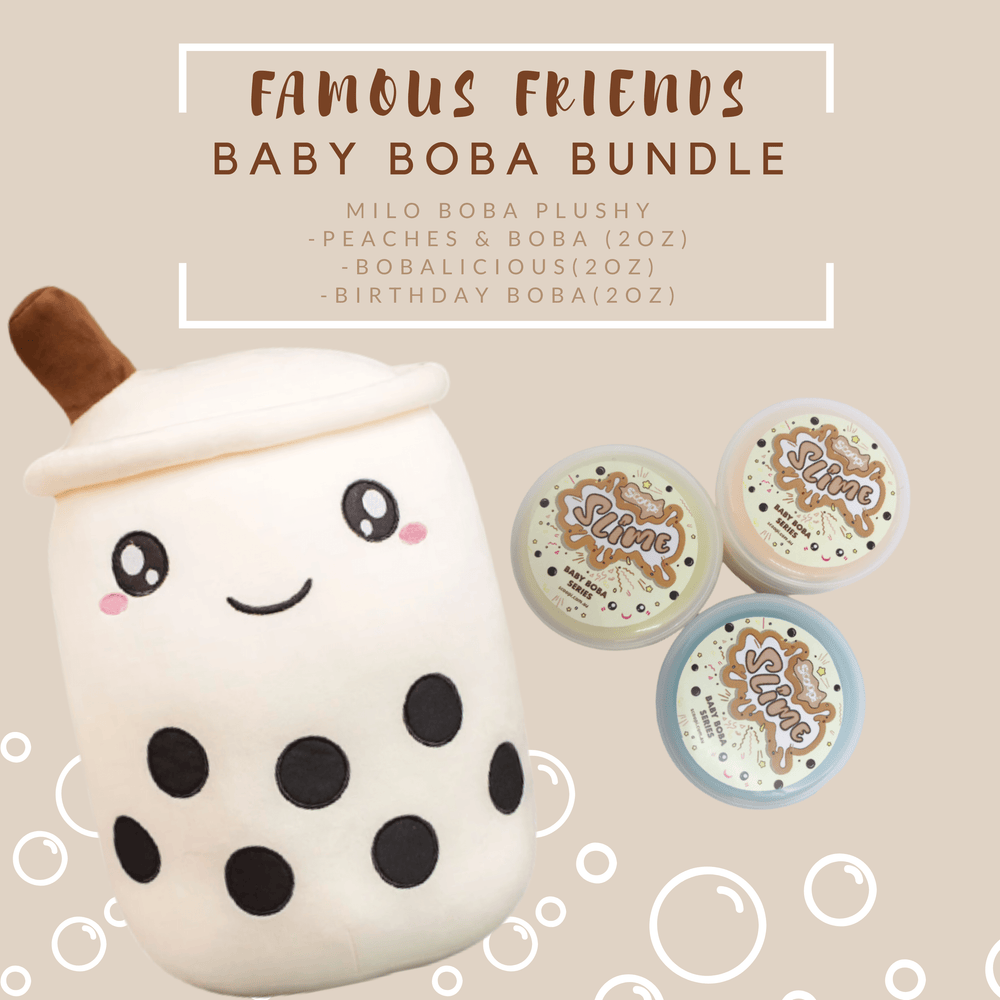 Famous Friends Boba Bundle