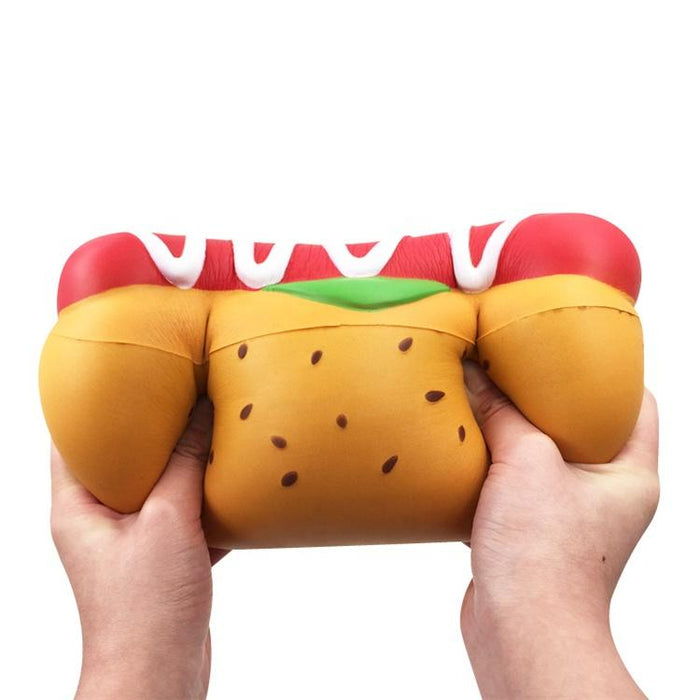 Jumbo Hotdog Squishy (defective)