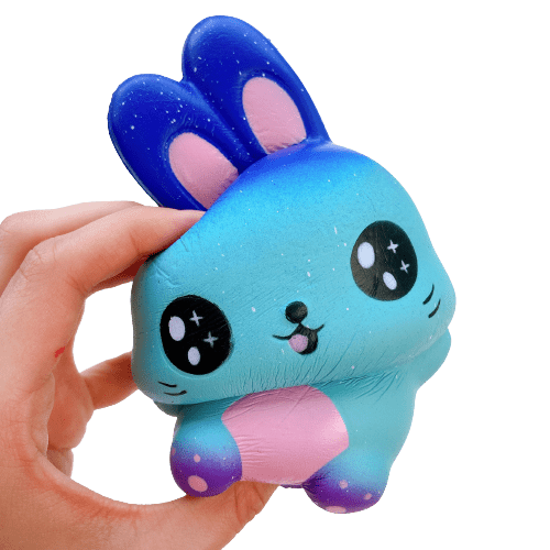 Galaxy Bunny Squishy
