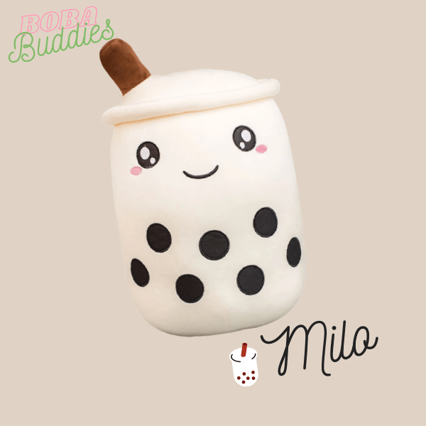White boba plushy
