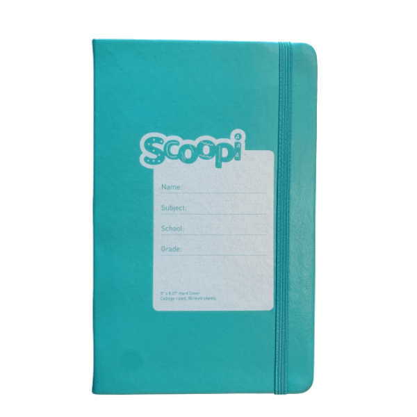 Notebook A5 Turquoise