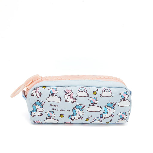 Big Zipper Unicorn Pencil Case
