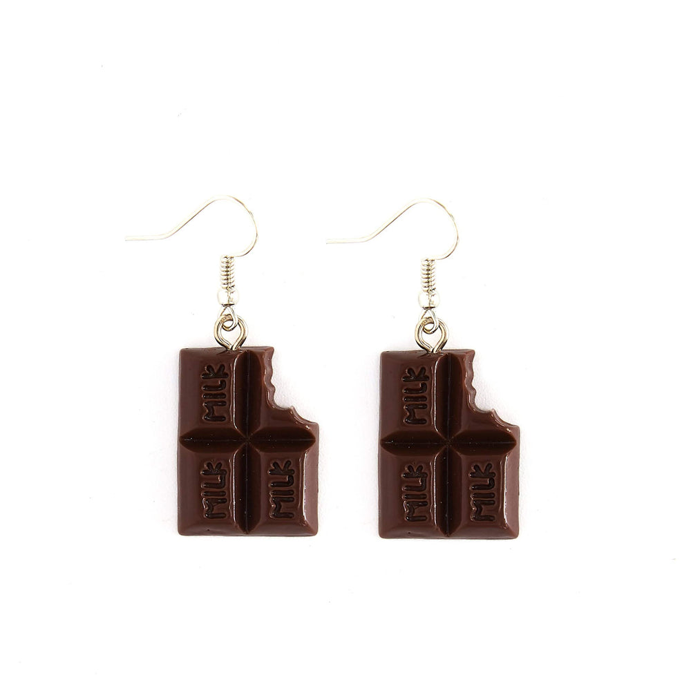 Milk Chocolate Earrings