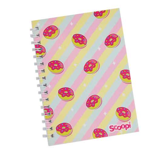 Glazed Donut A6 Spiral Notebook