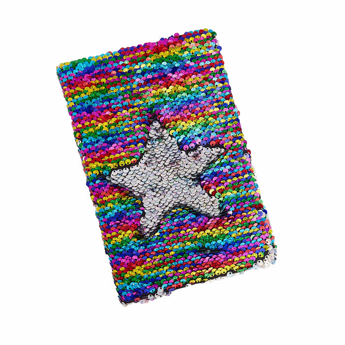 A5 Mermaid Sparkly Scales Sequin Notebook