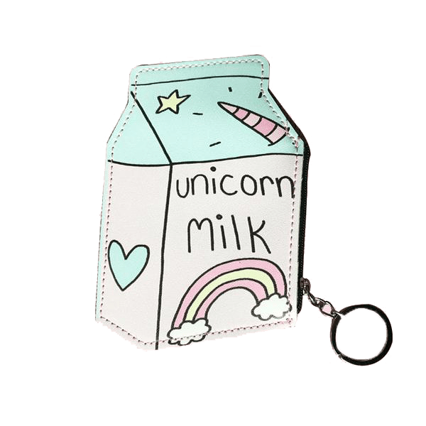 Unicorn Milk Charm Wallet