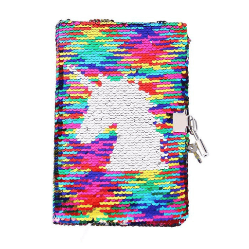 A5 Unicorn Sequin Journal