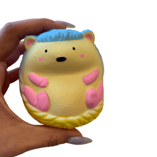 Rainbow Hedgehog Squishy