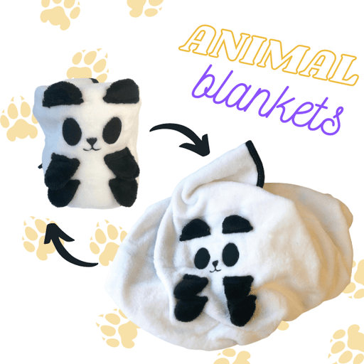 Animal Baby Blanket and Pillow