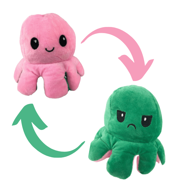 Reversible Octopus Plushy