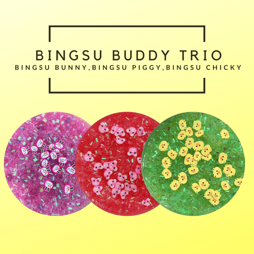 Bingsu Buddy Trio