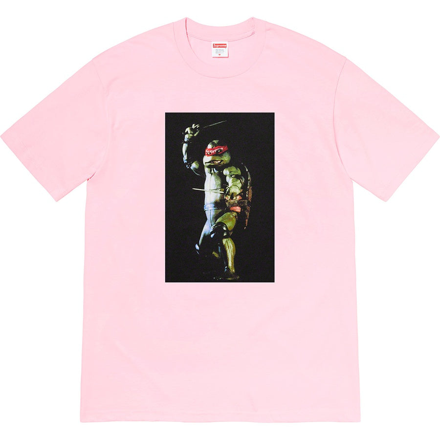 Supreme Raphael Tee Light Pink  | Hype Vault Kuala Lumpur | Asia's Top Trusted High-End Sneakers and Streetwear Store | Authenticity Guaranteed