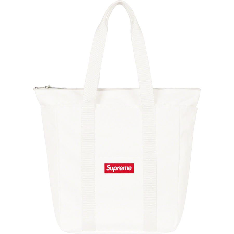 Supreme Canvas Tote White (FW20) | Hype Vault Malaysia | Top Streetwear Store | Authentic only