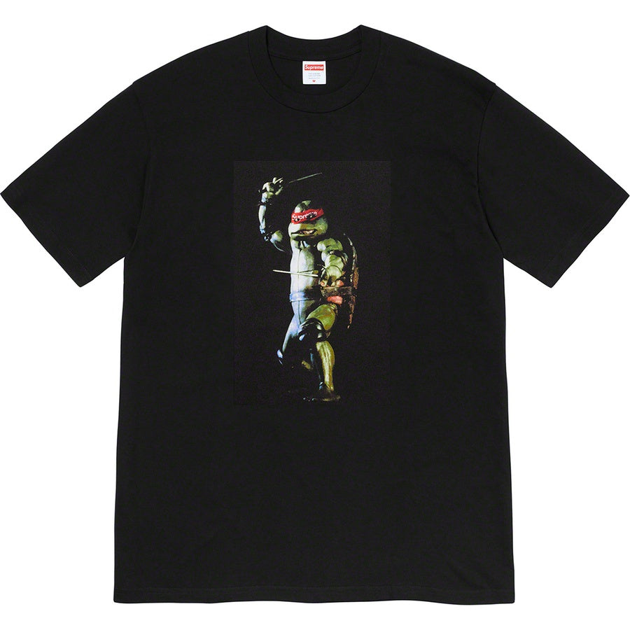 Supreme Raphael Tee Black | Hype Vault Kuala Lumpur | Asia's Top Trusted High-End Sneakers and Streetwear Store | Authenticity Guaranteed