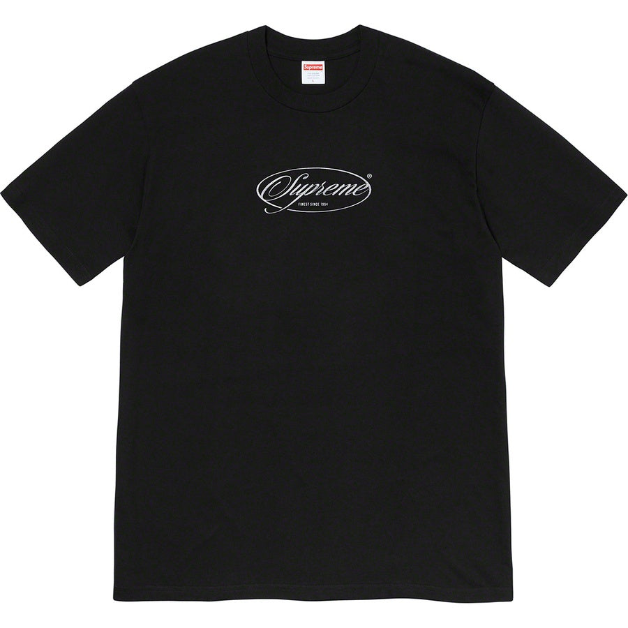 Supreme Classics Tee Black FW20 | Hype Vault | Authentic Streetwear and Sneakers Malaysia