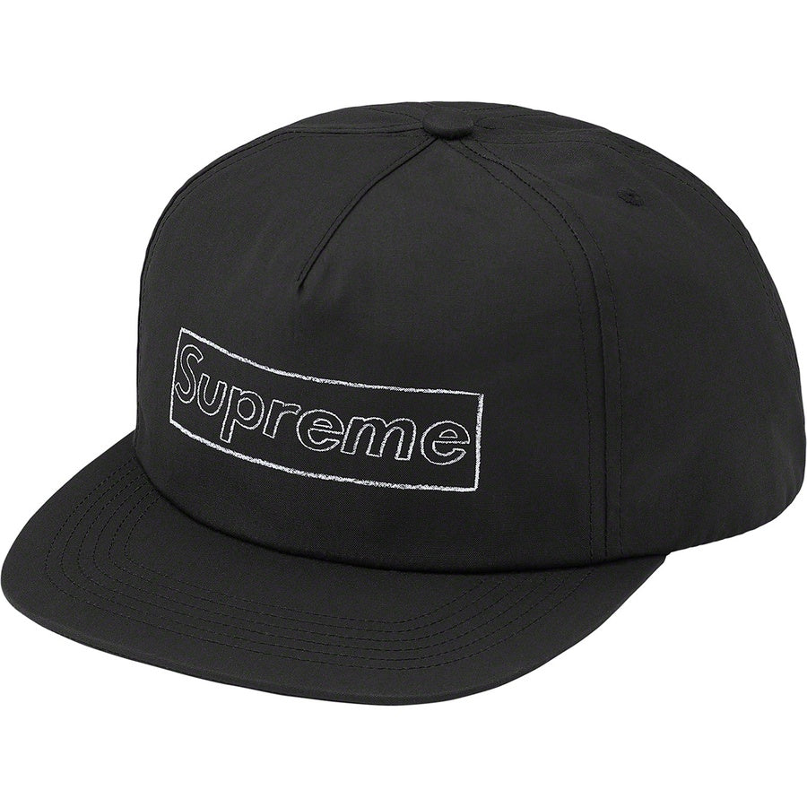 Supreme x KAWS Chalk Logo 5-Panel Black | Hype Vault Kuala Lumpur | Asia's Top Trusted High-End Sneakers and Streetwear Store | Authenticity Guaranteed