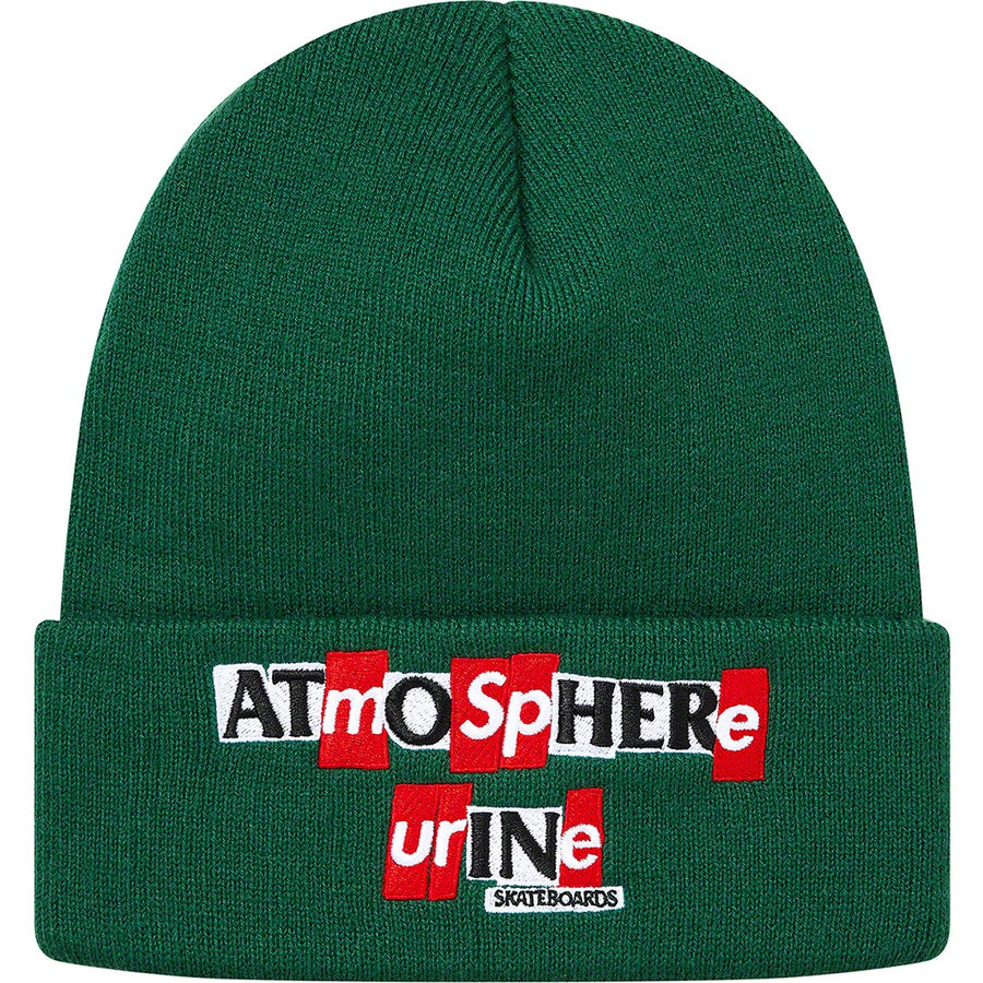 Supreme Antihero Beanie Green FW20 | Hype Vault | Malaysia's Top Streetwear Store | Authentic without a doubt
