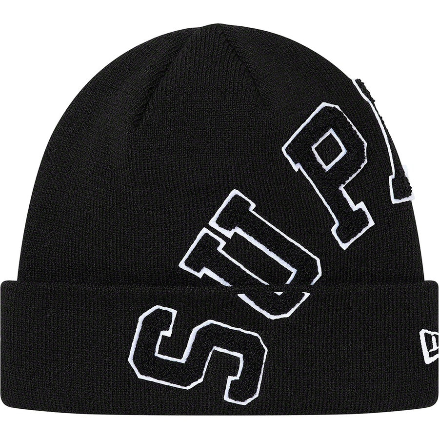 Supreme New Era Big Arc Beanie Black | Hype Vault Malaysia
