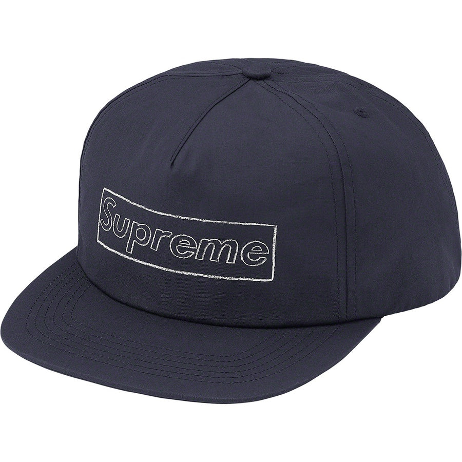 Supreme x KAWS Chalk Logo 5-Panel Navy | Hype Vault Kuala Lumpur | Asia's Top Trusted High-End Sneakers and Streetwear Store | Authenticity Guaranteed