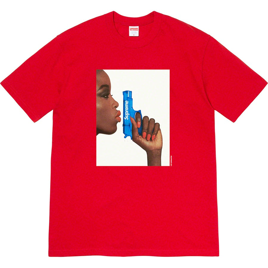 Supreme Water Pistol Tee Red | Hype Vault Kuala Lumpur | Asia's Top Trusted High-End Sneakers and Streetwear Store | Authenticity Guaranteed