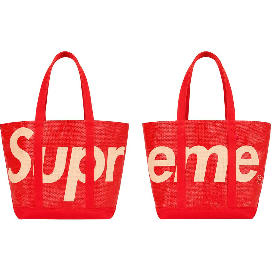Supreme Raffia Tote Bag Red - Hype Vault Malaysia