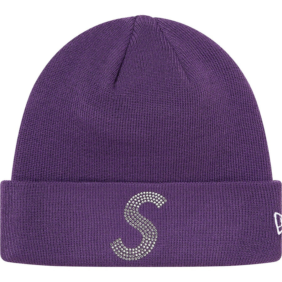 Supreme x New Era x Swarovski S Logo Beanie Purple | Hype Vault Kuala Lumpur | Asia's Top Trusted High-End Sneakers and Streetwear Store | Authenticity Guaranteed
