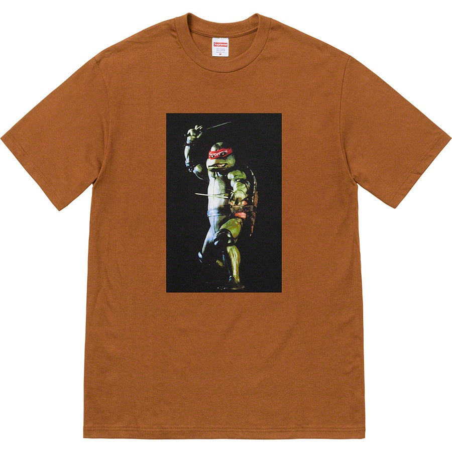 Supreme Raphael Tee Brown | Hype Vault Kuala Lumpur | Asia's Top Trusted High-End Sneakers and Streetwear Store | Authenticity Guaranteed
