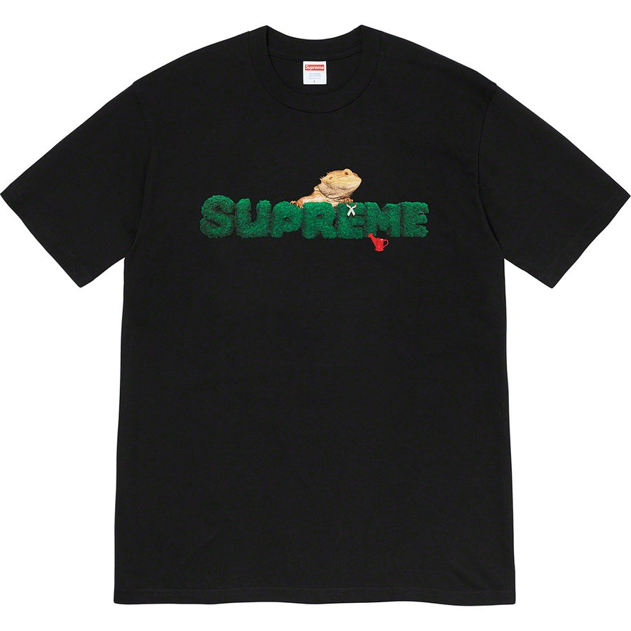 Supreme Lizard Tee Black (Size L) - Hype Vault Malaysia