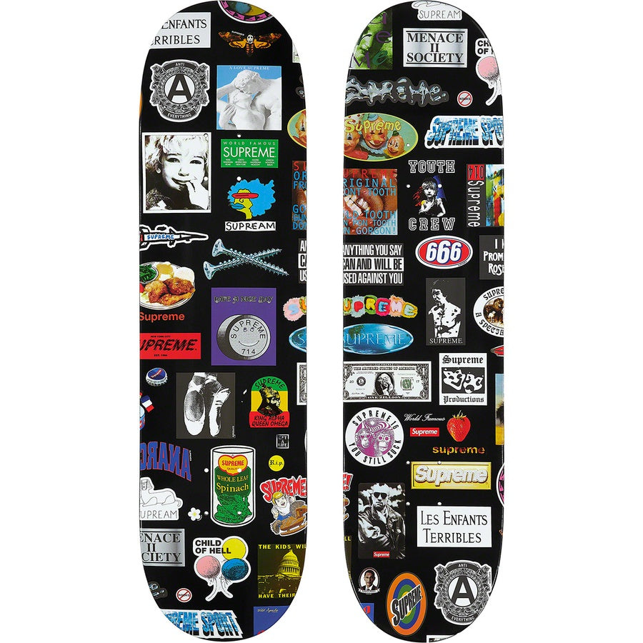 Supreme Stickers Skateboard | Hype Vault Kuala Lumpur | Asia's Top Trusted High-End Sneakers and Streetwear Store | Authenticity Guaranteed