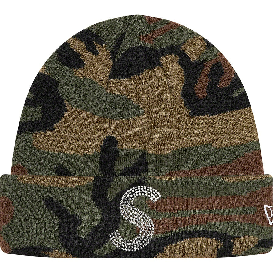 Supreme x New Era x Swarovski S Logo Beanie Woodland Camo  Hype Vault Kuala Lumpur | Asia's Top Trusted High-End Sneakers and Streetwear Store | Authenticity Guaranteed