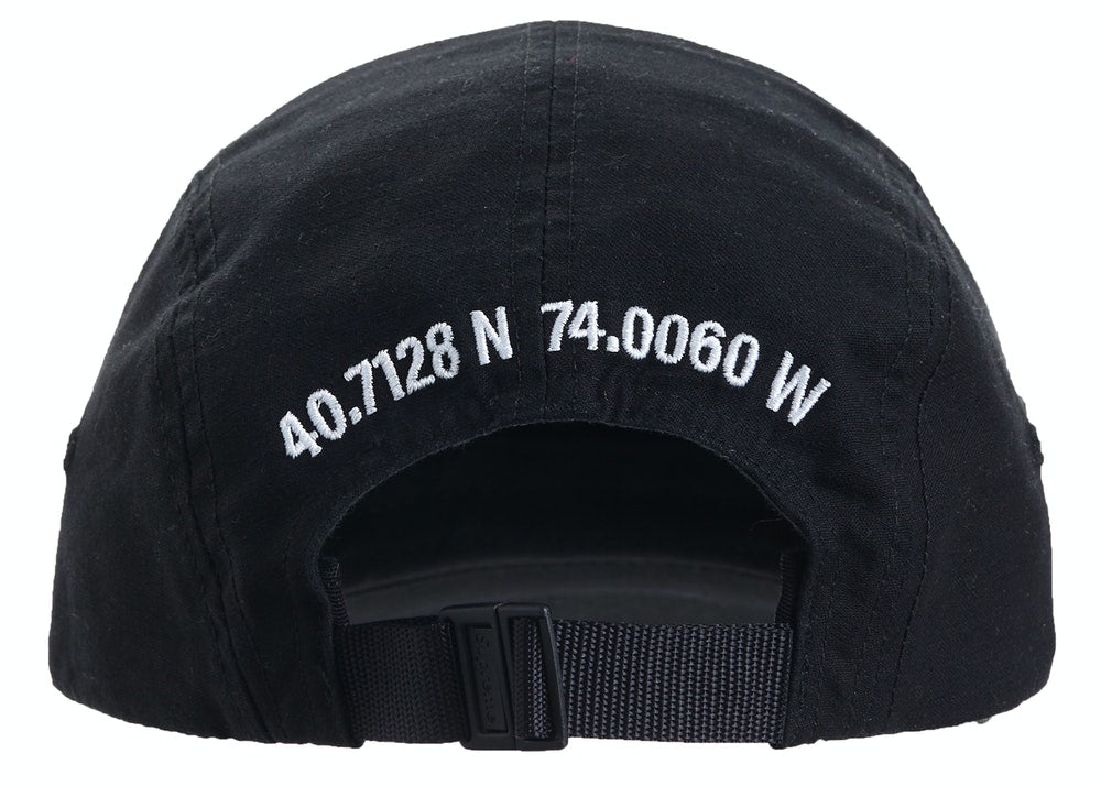 Supreme Military Camp Cap Black FW20 | Hype Vault Malaysia