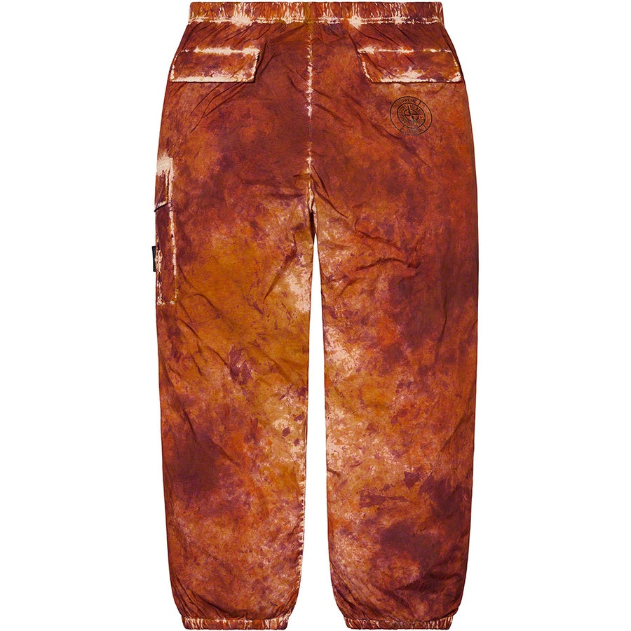 Supreme x Stone Island Painted Camo Nylon Cargo Pants Coral | Hype Vault Malaysia