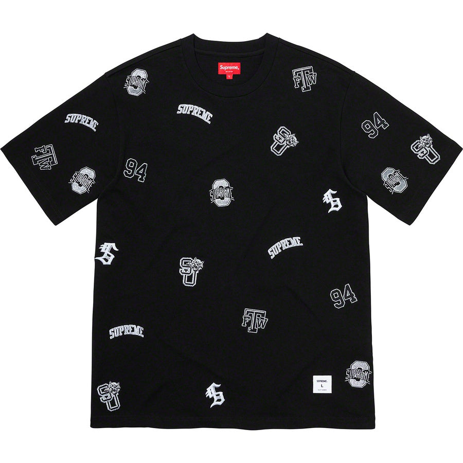 Supreme University S/S Top Black (Size XL) - Hype Vault Malaysia