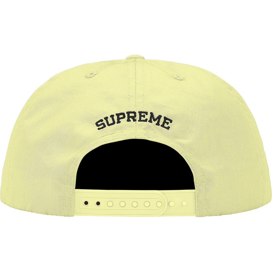 Supreme x KAWS Chalk Logo 5-Panel Pale Yellow | Hype Vault Kuala Lumpur | Asia's Top Trusted High-End Sneakers and Streetwear Store | Authenticity Guaranteed
