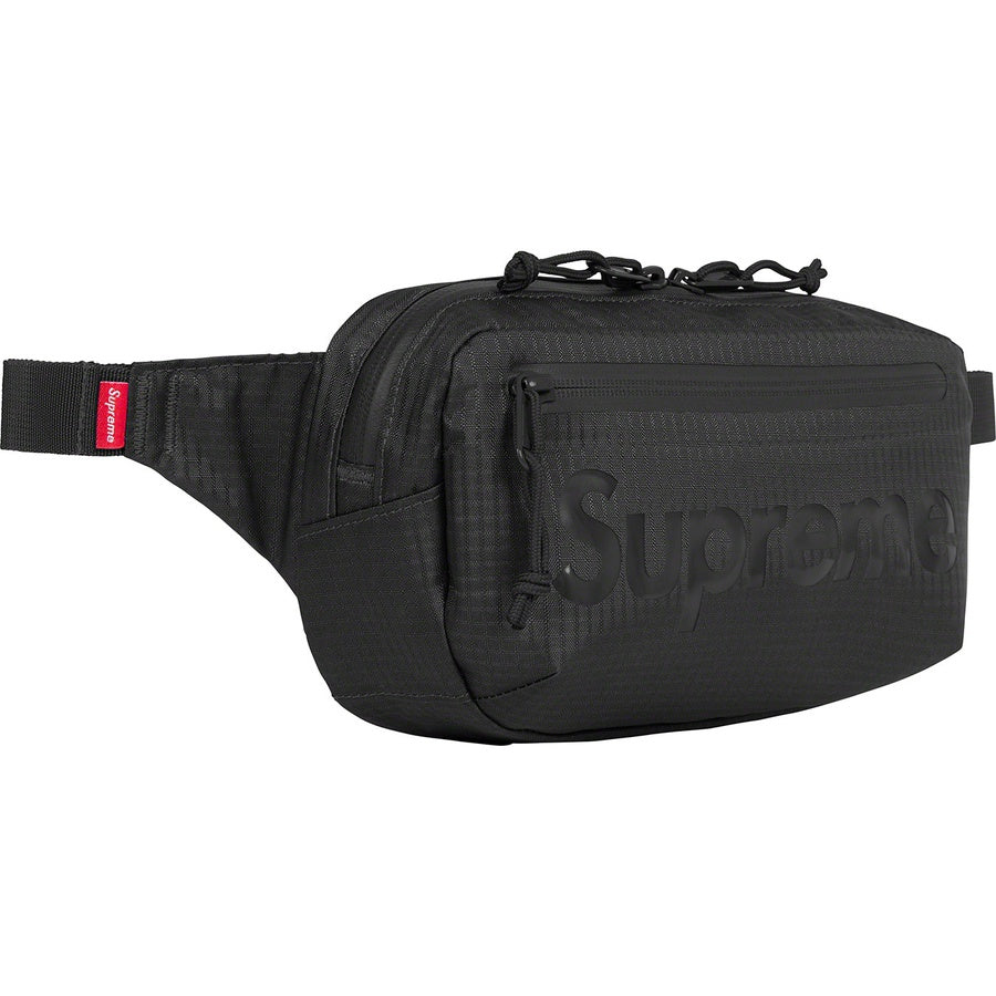 Supreme Waist Bag Black (SS21) | Hype Vault Kuala Lumpur | Asia's Top Trusted High-End Sneakers and Streetwear Store | Authenticity Guaranteed