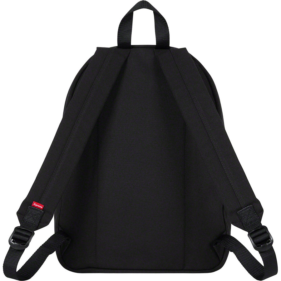 Supreme Canvas Backpack Black (FW20) | Hype Vault Malaysia
